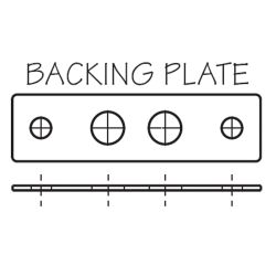 STAINLESS PLATE FOR 041506