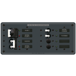 120V A SERIES PANEL 2 MAIN 4 POS