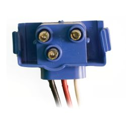 """Trailer Plug Connector for 6"""" Oval LED Tail Light with Plug-In Back"""