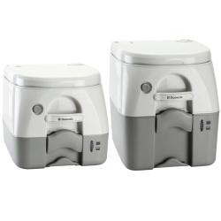 SaniPottie 970 MSD Series Pressurized Flush Portable Toilet - Empty Via Dockside Pump-Out