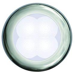 SlimLine LED Round Lamp - White Lamp, Chrome Trim