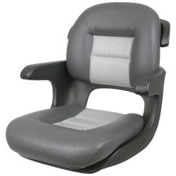 ELITE HELM SEAT LOW BACK CHRCL/GRY