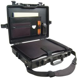 1495CC1 BLK DLX LAPTOP CASE 19X13X4IN