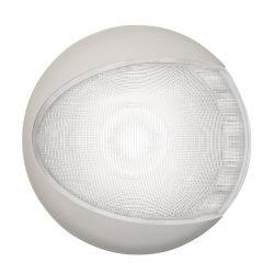EuroLED 130 Dome Light - Cool White, White Shroud