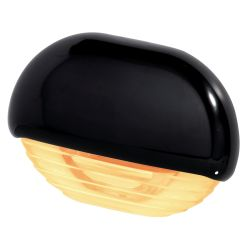 Easy Fit LED Courtesy Lamp - Amber, Black Trim