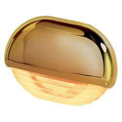 Easy Fit LED Courtesy Lamp - Amber, Gold Trim