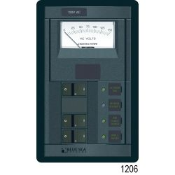 360 Panel System 120 Volt AC Source Selector Panel, Rocker (2 x 50A Double)