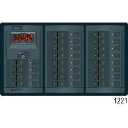 12V 360 ROCKER PANEL 19 POS MULTIMETER