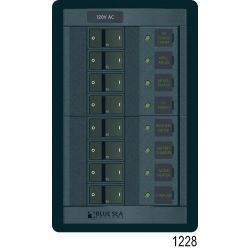 120V 360 ROCKER PANEL 8 POS