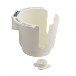 DRINK HOLDER BULKHD/GUNNEL MT WHT