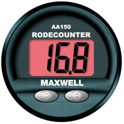 Maxwell AA150 Panel Mount Rode Counter