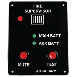 FIRE SUPERVISOR CIRCUIT ALARM