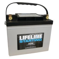 12V Group 24 AGM Starting Battery - 660 CCA