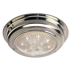 STAINLESS LED DOME LIGHT, 4IN LENS