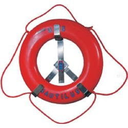 ROUGHNECK S.S. LIFE RING RACK-30IN