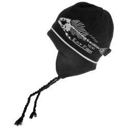 Eat Fish Knitted Flap Cap