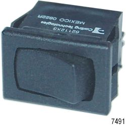 Rocker Switches, SPDT ON-OFF-(ON)