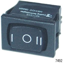 DPDT 360 ROCKER SWITCH ON/OFF/ON