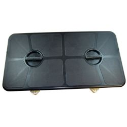 "Rectangular Watertight Access Hatch - 11"" x 21"""