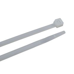 11.8IN NYLON CABLE TIE NATURAL (100)