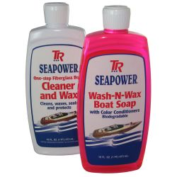 Discontinued: Boat Soap and Wax Kit for Fiberglass