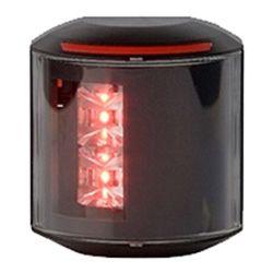 Aqua Signal Series 43 LED Navigation Light - Port, Black Housing
