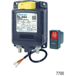 ML-Series Solenoid Switch - w/Manual Control, 24VDC/225A