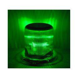 SOLAR WARNING LIGHT LED GREEN