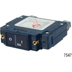 60A C1 FLAT ROCKER CIRCUIT BREAKER IP