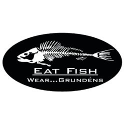 Grundens Eat Fish Stickers