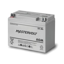 AGM BATTERY GRP 24 12V 55AH DC