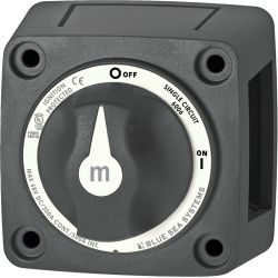 300A m-Series Mini On-Off Battery Switch with Knob