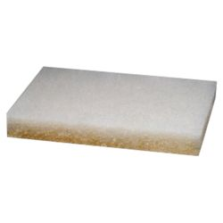 4.6X10IN WHT AIRCRAFT CLEANING PAD
