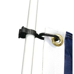 Charlevoix® Burgee and Antenna Clips