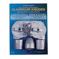 Bravo III Engine Anode Kit - Zinc