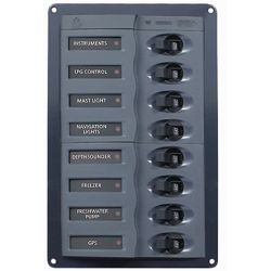 901V DC Circuit Breaker Panel