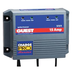 12V 5/5/5A CHARGE PRO BATTERY CHARGER