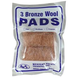 COARSE BRONZE WOOL (3-PK)