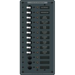 DC 13 Position Circuit Breaker Panel