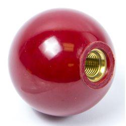 RED PLASTIC KNOB