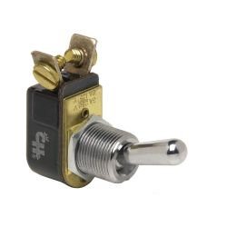 TOGGLE SWITCH IN RECESSED PLATE