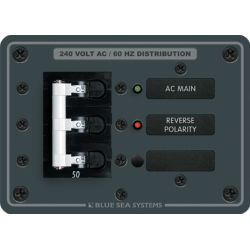 240 Volt AC Main Circuit Breaker Panel