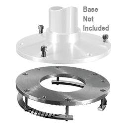 Detachable Stanchion Plates - Rings