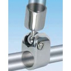 Ball & Socket Rail Mount Canvas Top Deck Hinge