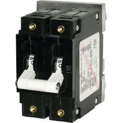 DC C-Series Double Pole Circuit Breakers