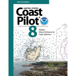 COAST PILOT BOOK (CAPE SPENCER 8 )