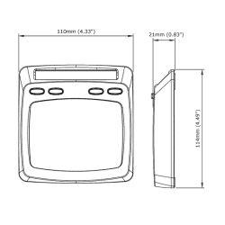 Micronet T-110 Digital Display (Multifunction)