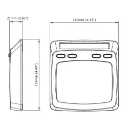 Micronet T-111 Dual Digital Display (Multifunction)