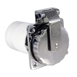50A 125/250V(M) SS INLET