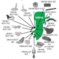 Yamaha Anodes - Zinc